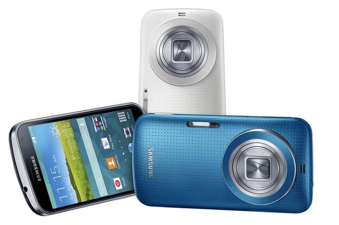 Samsung unveils Galaxy K Zoom camera phone