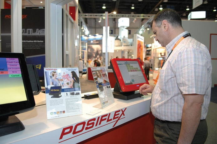 POSIFLEX's touch terminal POS solutions on show