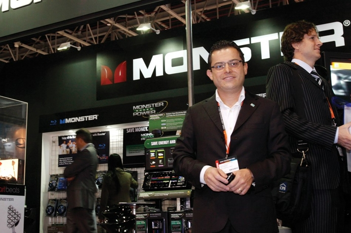 Monster shows 'Green' power saving products