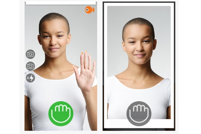 Swedish start-up launches touchless selfie app
