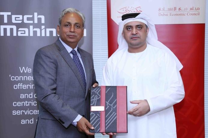 DEC and Tech Mahindra sign Dubai smart city MOU