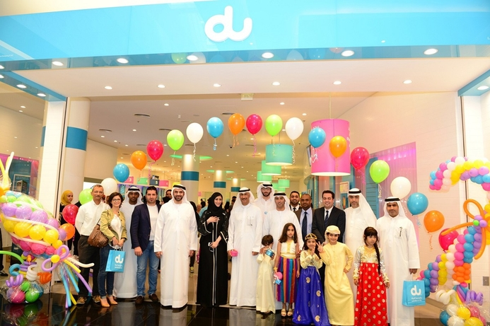du's latest outlet awarded UAE's greenest telecom retail store