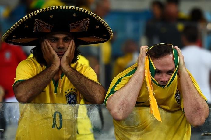 Brazil defeat breaks Twitter records