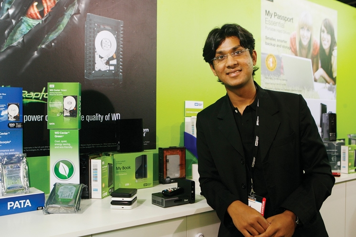 Western Digital demonstrates new product line