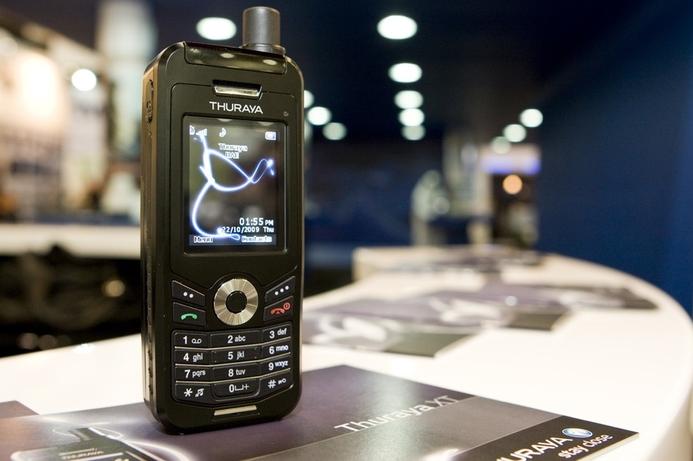 Thuraya unveils dual satellite and GSM handset