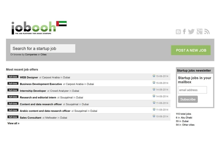 Jobsite for start-ups launched in UAE