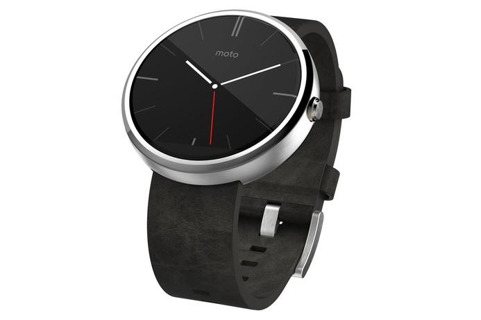 Moto 360 circular smartwatch released by Motorola
