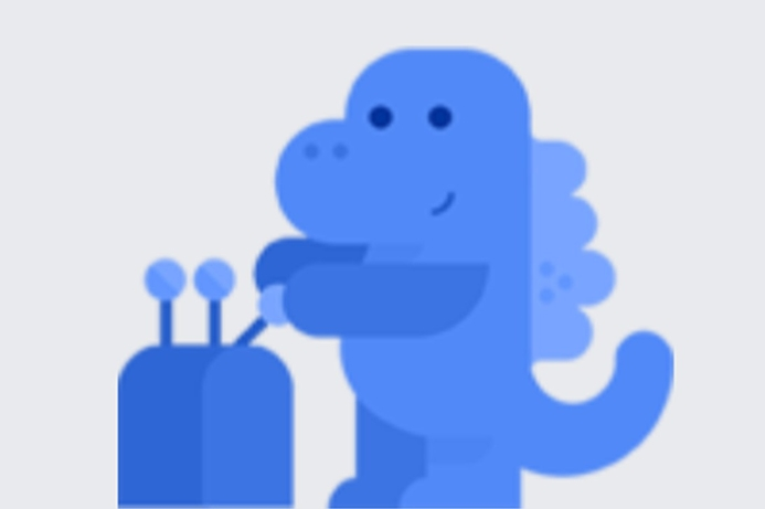 Facebook uses blue dinosaur to help with privacy settings