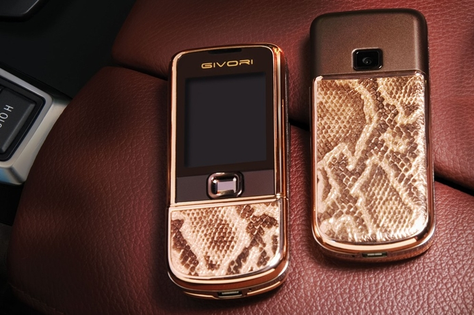 Givori luxury cellphone sales 'tripled' last year