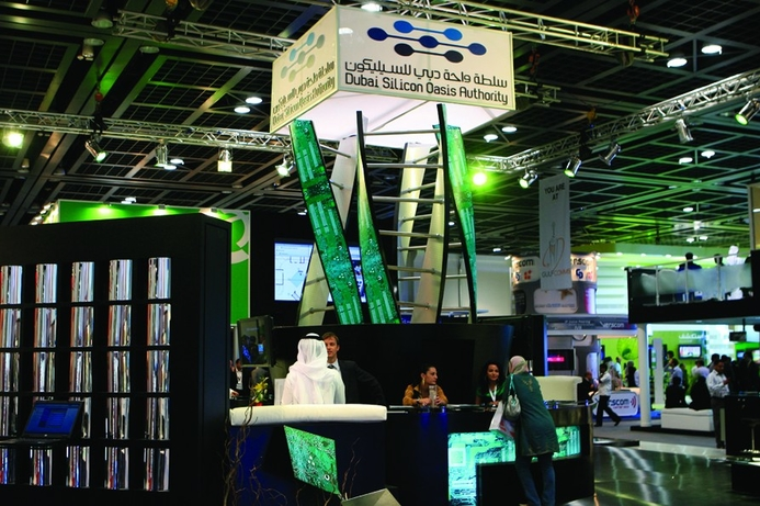 Dubai Silicon Oasis promoting services at Hannover Messe