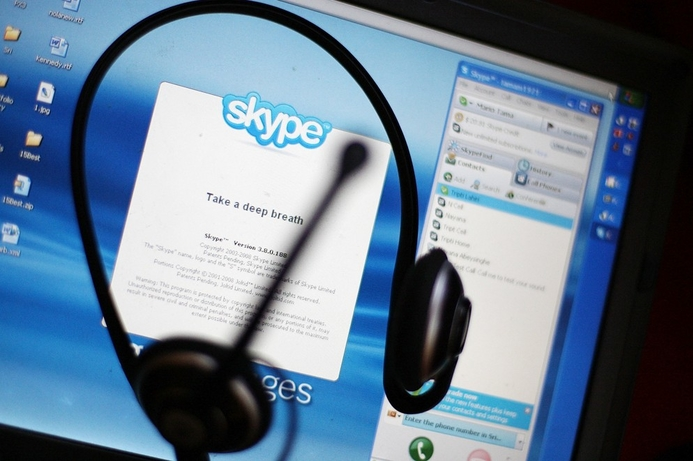 Saudi couple weds on Skype