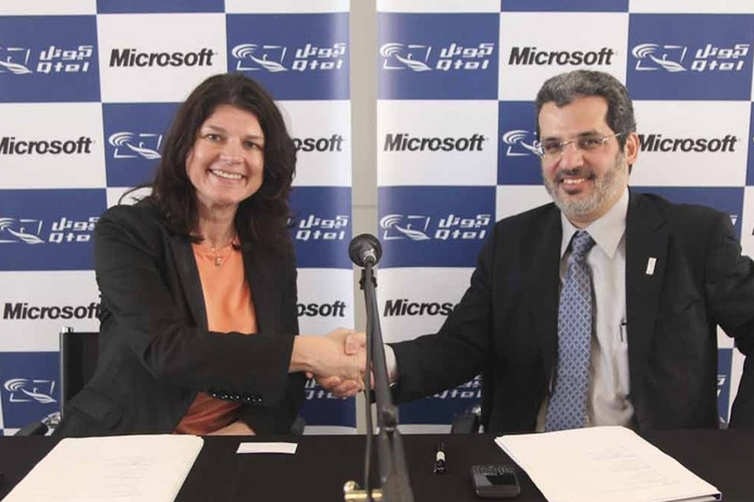 Microsoft and Qtel to collaborate on mobile learning