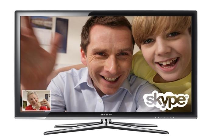 Make a Skype call through your TV