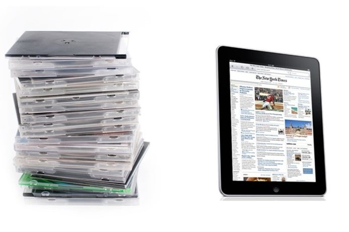 Swap your old CDs for a brand new iPad