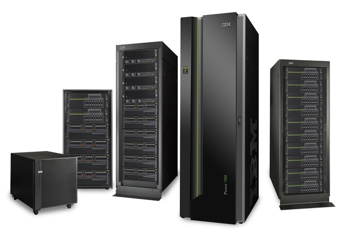 GBM shows off IBM Power7 systems