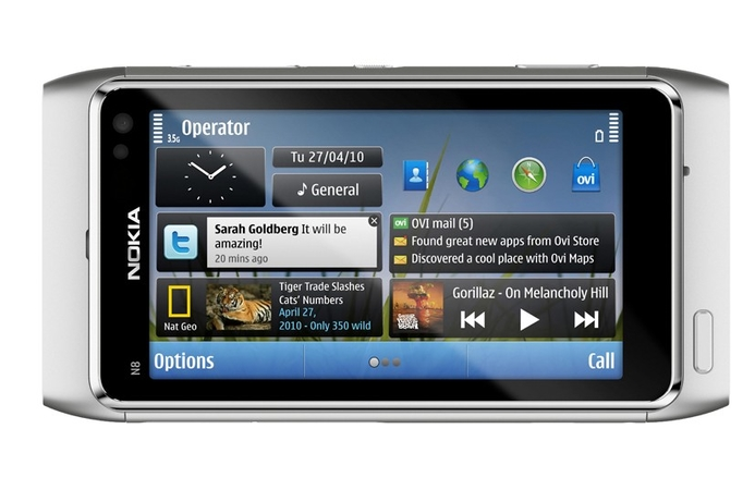 Nokia N8 packs in 12MP camera and HD video