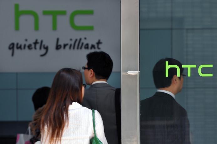 HTC shares sag