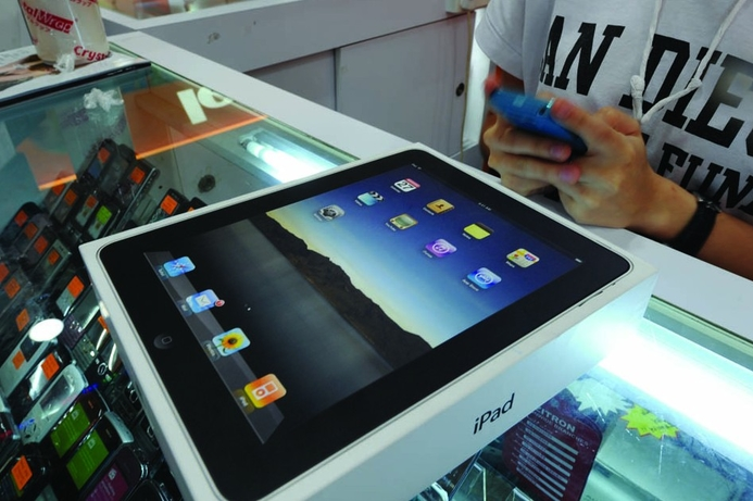iPad, other devices, could cause nickel rashes
