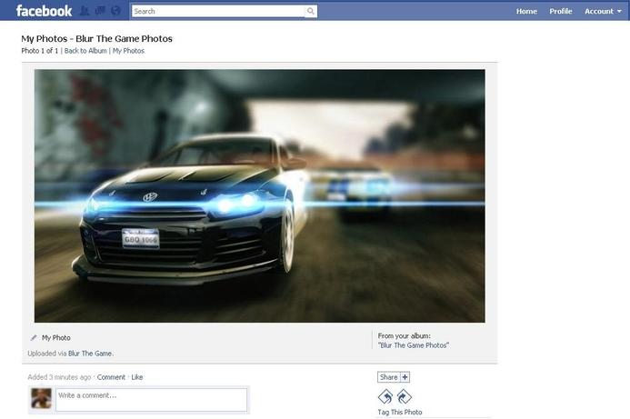 New racing title features bonus Facebook options