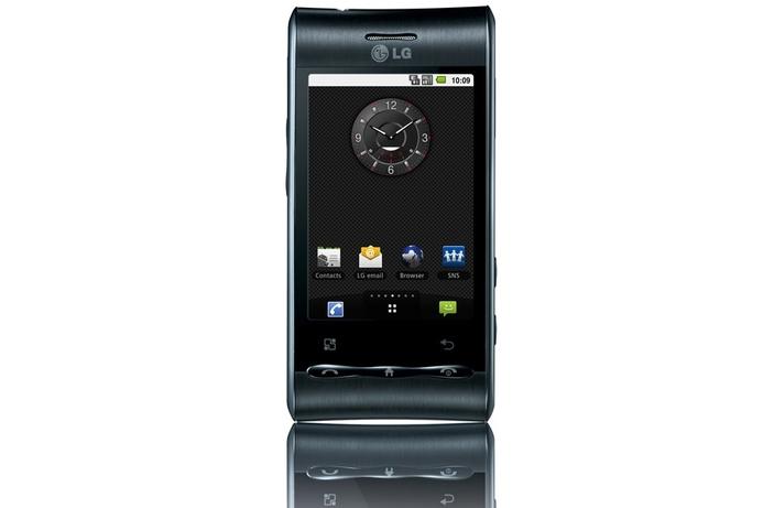 LG Optimus Android phone releases in UAE