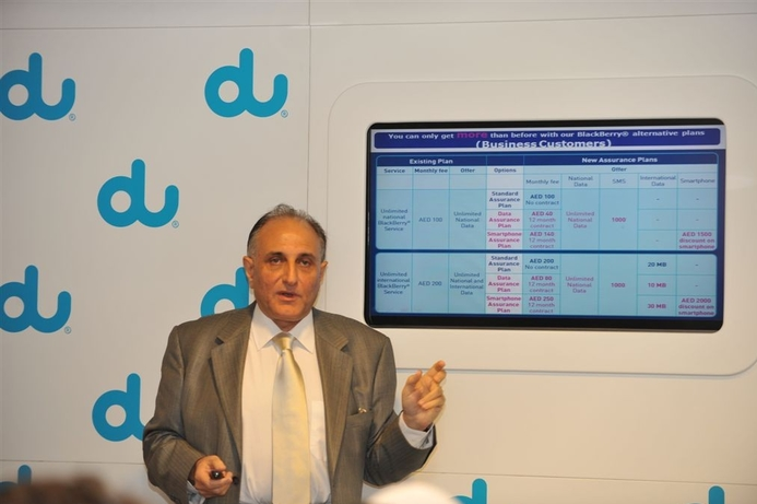 Du aims for over 50% mobile market share by 2014