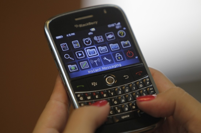Blackberry suffers outage in Middle East