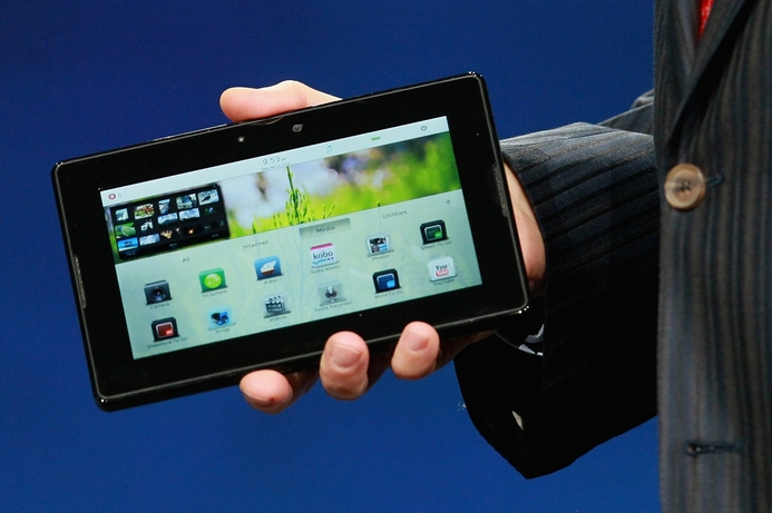 BlackBerry PlayBook struggles with battery issues