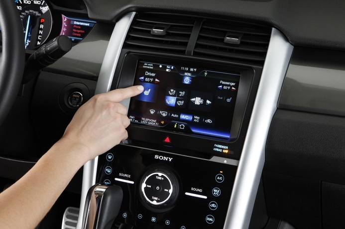 Ford rolls out touch system