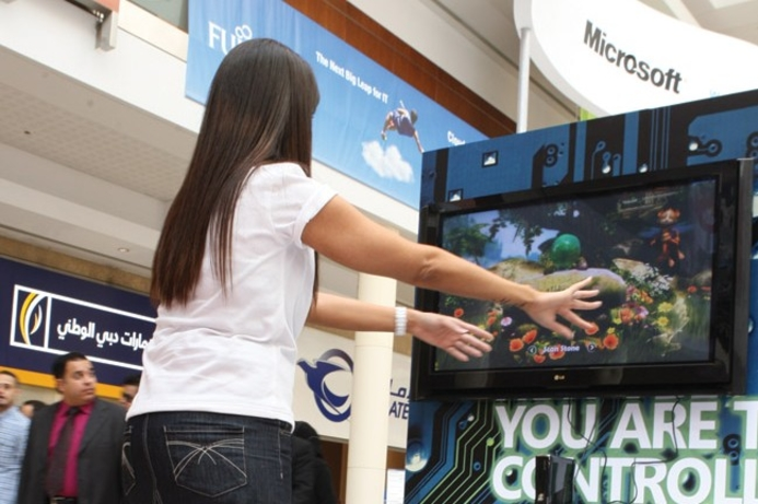Microsoft unleashes its Kinect controller