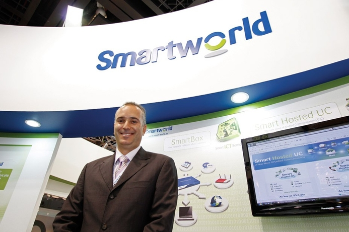 Smartworld signs deal with azeti