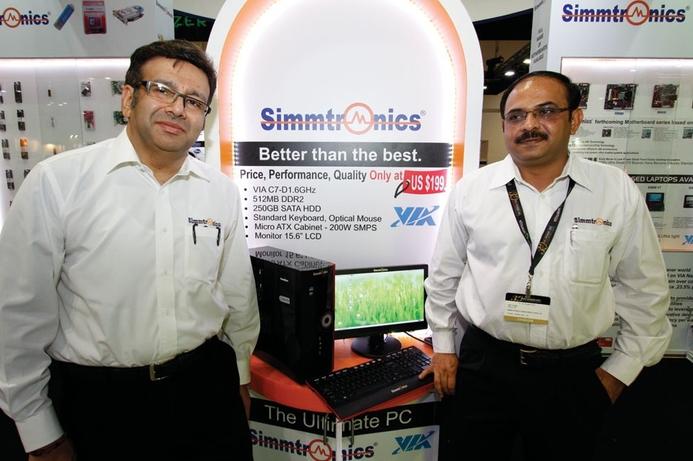 Simmtronics shines at CE