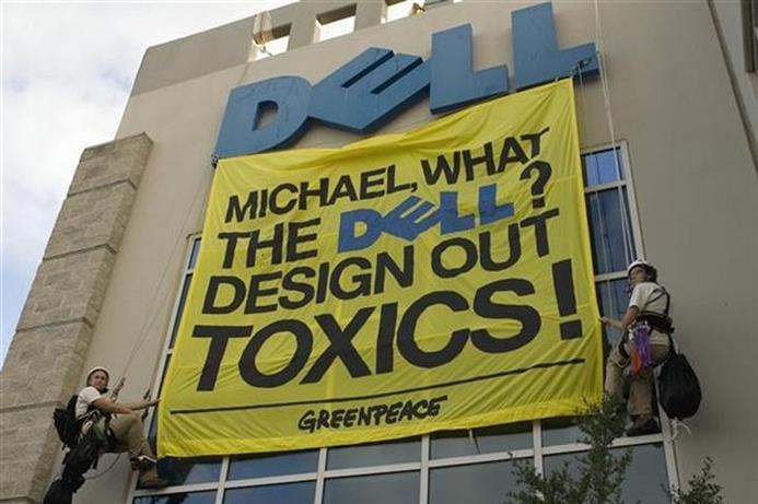 Microsoft, Toshiba fail to impress Greenpeace