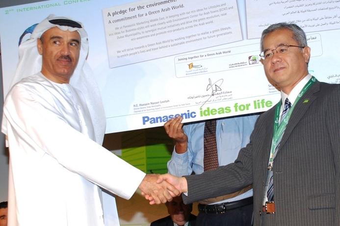 Dubai Municipality and ECAT to support Panasonic's green efforts