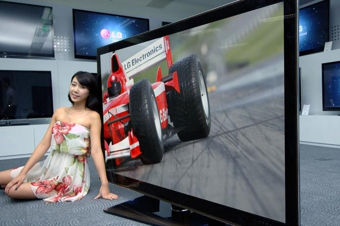 LG reveals the new world's largest 3D LED TV
