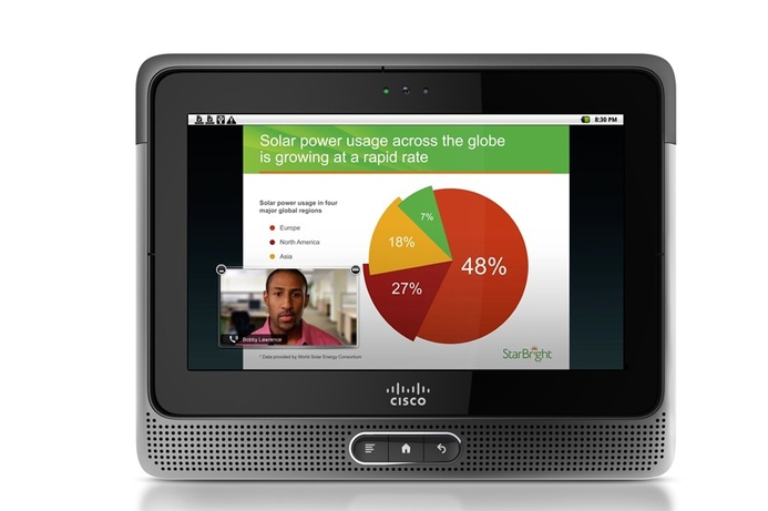 Cisco launches new tablet device