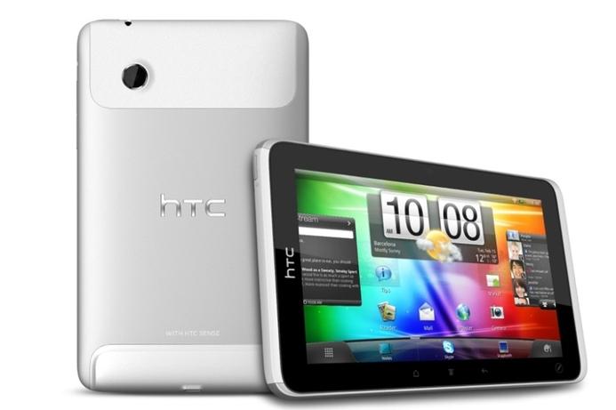 HTC announces tablet device