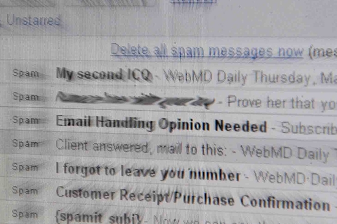 Spam abates, but poses greater threat: Kaspersky