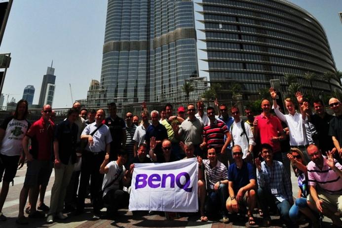 BenQ hosts European distributors in Dubai