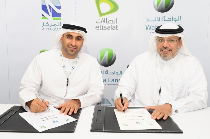 Etisalat to provide smart city services to Almarkaz