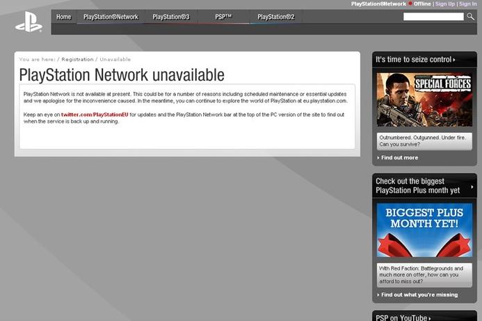 Sony PlayStation Network, Qriocity still down
