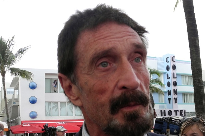 John McAfee releases 'secure' messaging app