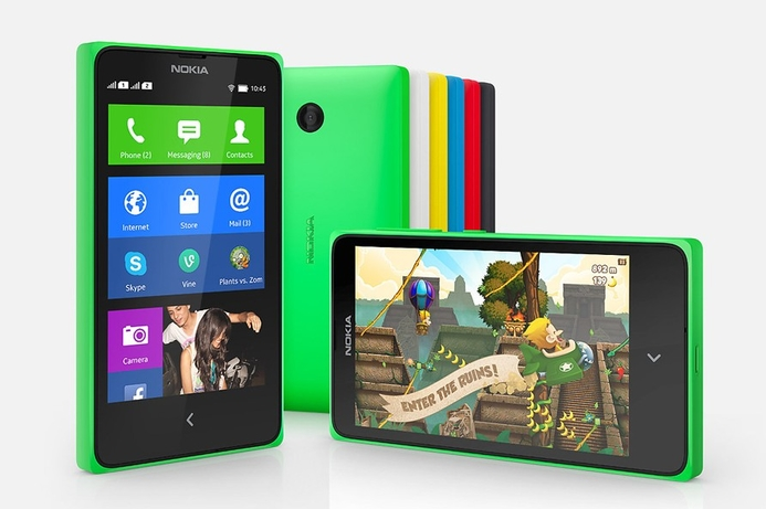 Nokia introduces Android-based X family