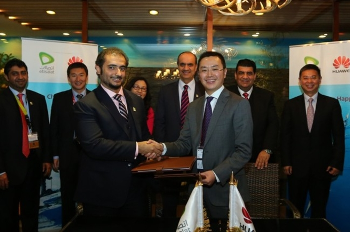 Etisalat and Huawei join forces on 5G technology