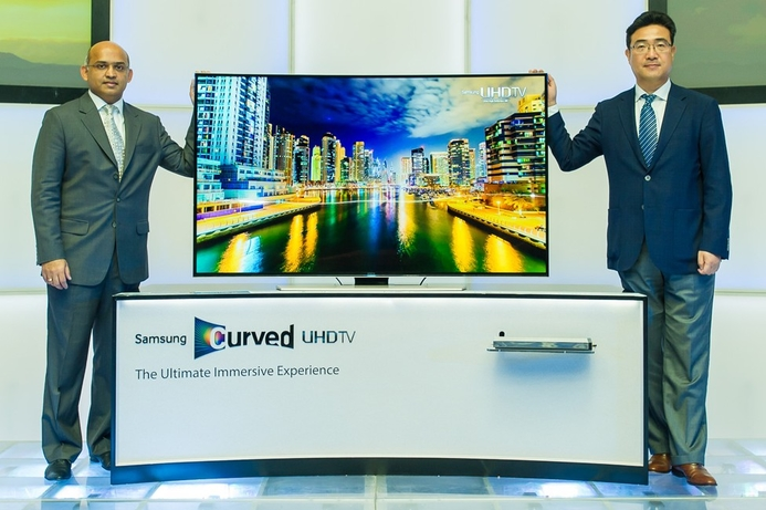 Samsung announces regional launch of curved UHD TVs