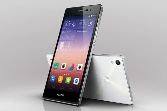 Huawei launches svelte Ascend P7 in UAE