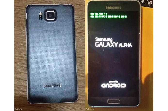 Samsung Galaxy Alpha images leaked