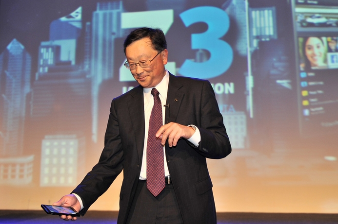 BlackBerry CEO looks to new growth