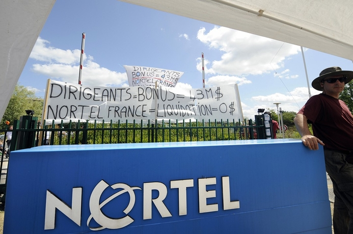 Private equity firm bids for Nortel assets