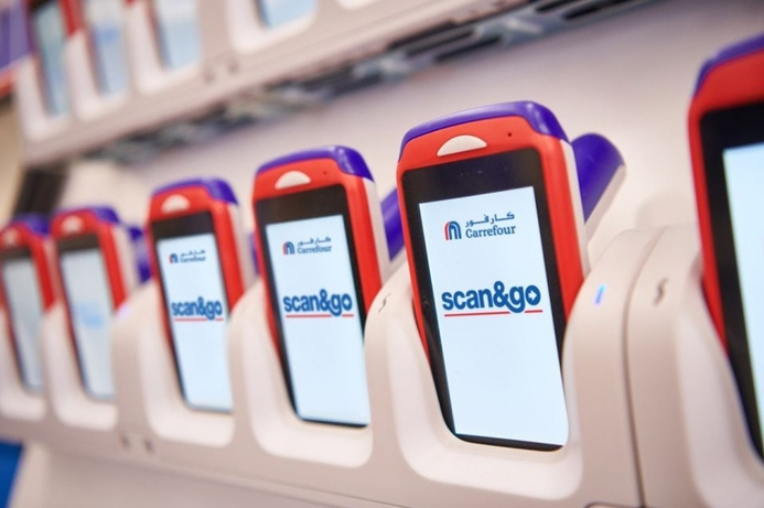 Carrefour launches new scan&go tech
