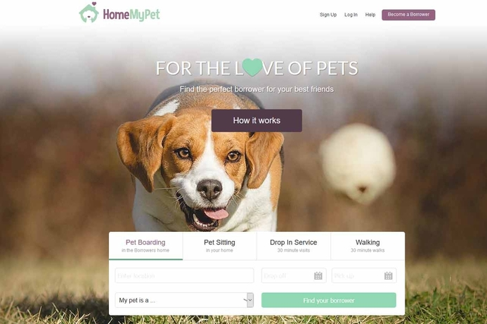 HomeMyPet.com helps to find pet sitters in the UAE